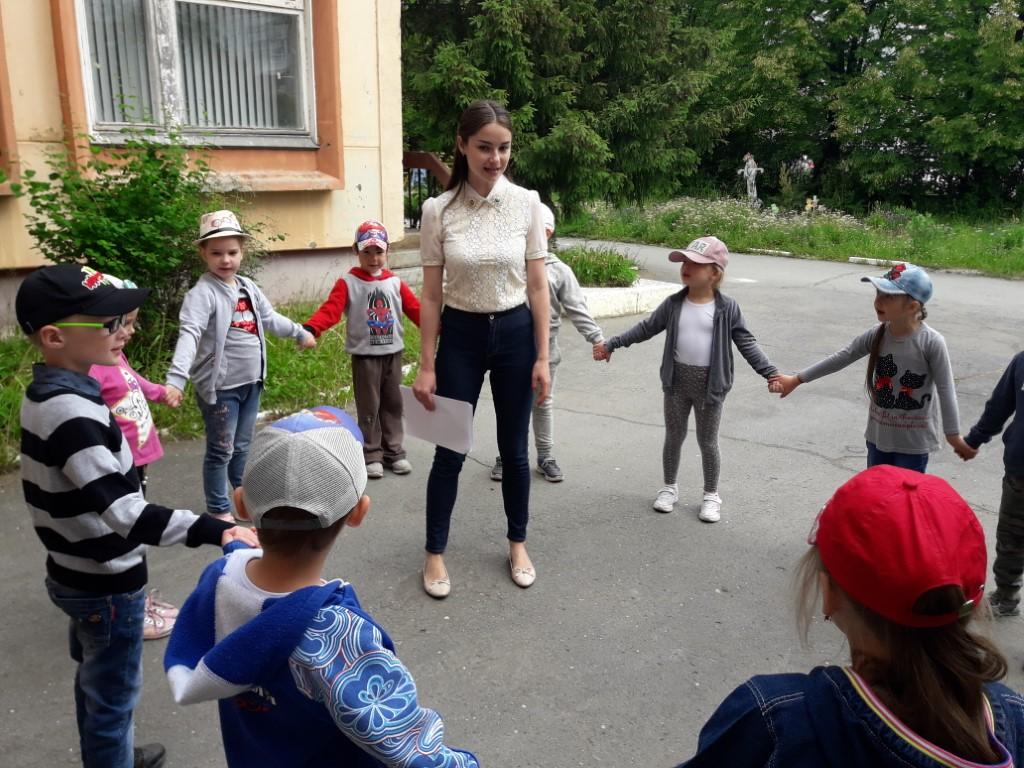 Студенческая практика в детском саду
