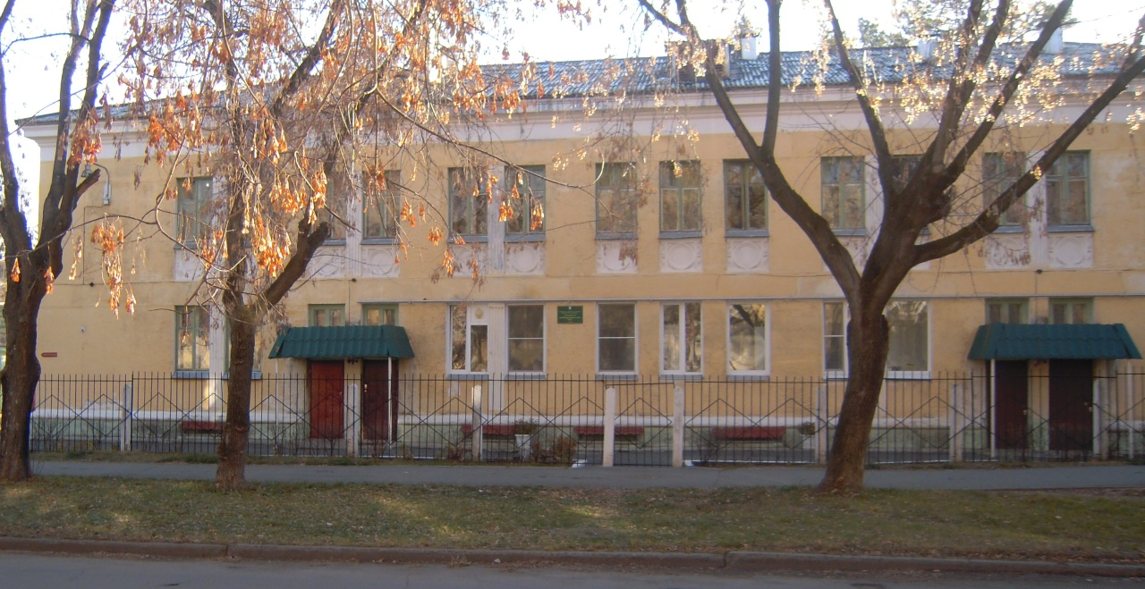 Внешний вид основного здания детского сада № 26