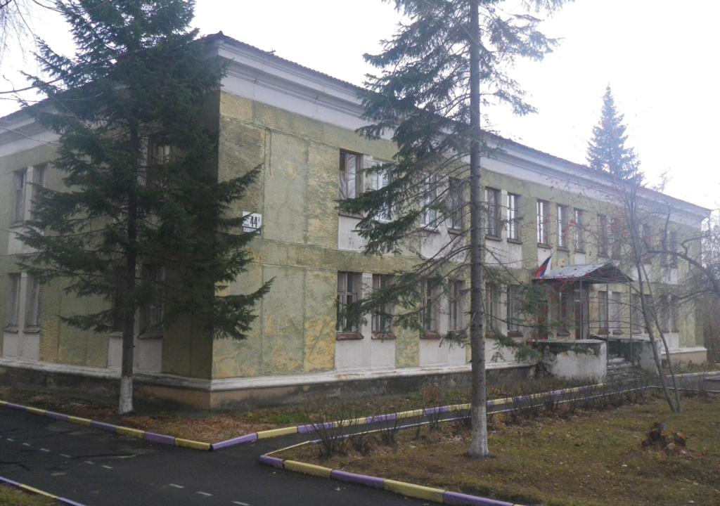 Внешний вид основного здания детского сада № 27
