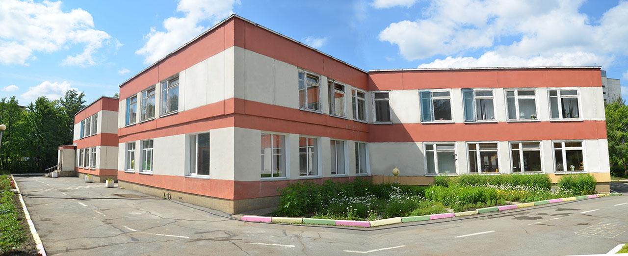 Внешний вид основного здания детского сада № 51