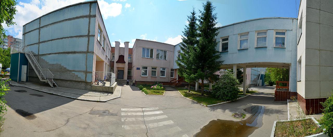 Внешний вид основного здания детского сада № 54
