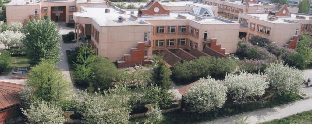 Внешний вид основного здания детского сада № 58