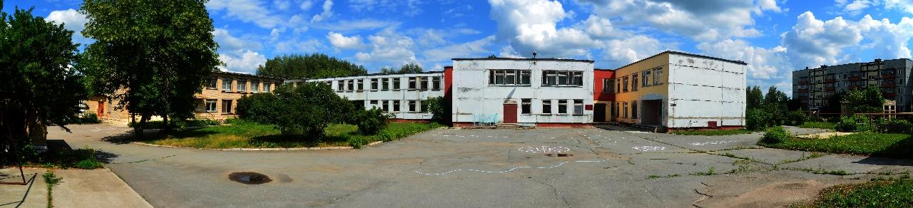 Внешний вид основного здания детского сада № 8