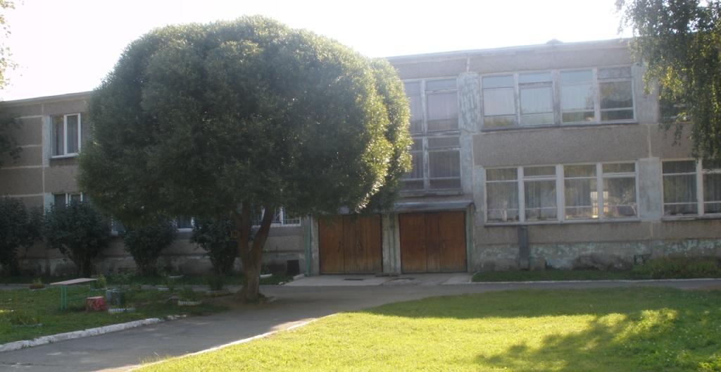 Внешний вид основного здания детского сада «Родничок»
