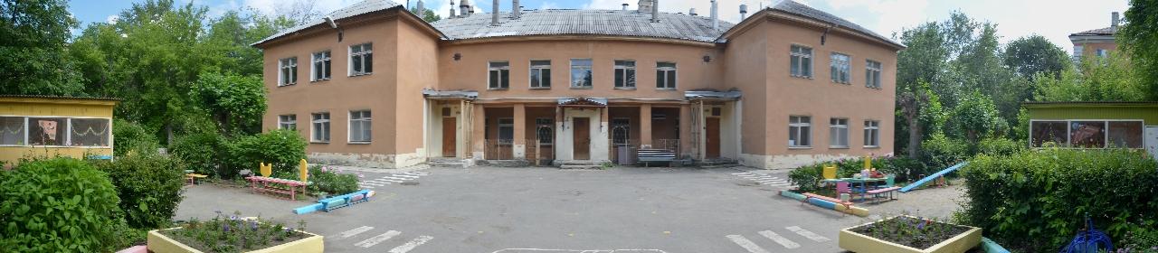 Внешний вид основного здания детского сада «Страна чудес»