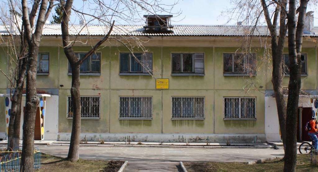 Внешний вид основного здания детского сада «Творчество»